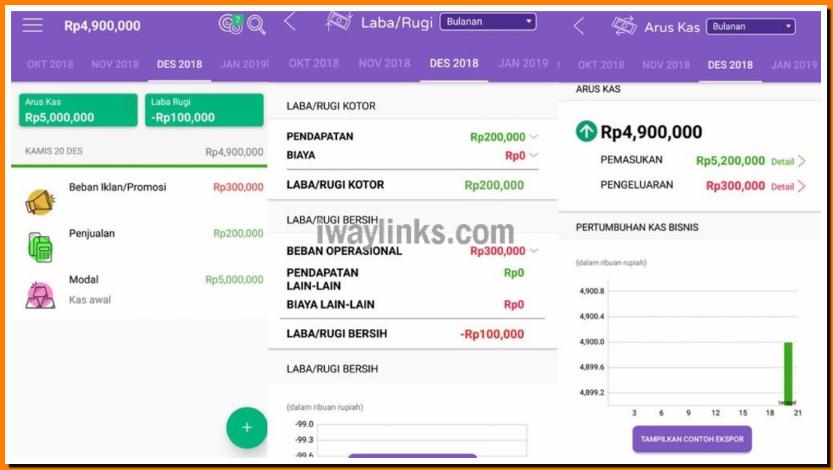aplikasi android temanbisnis (Custom)